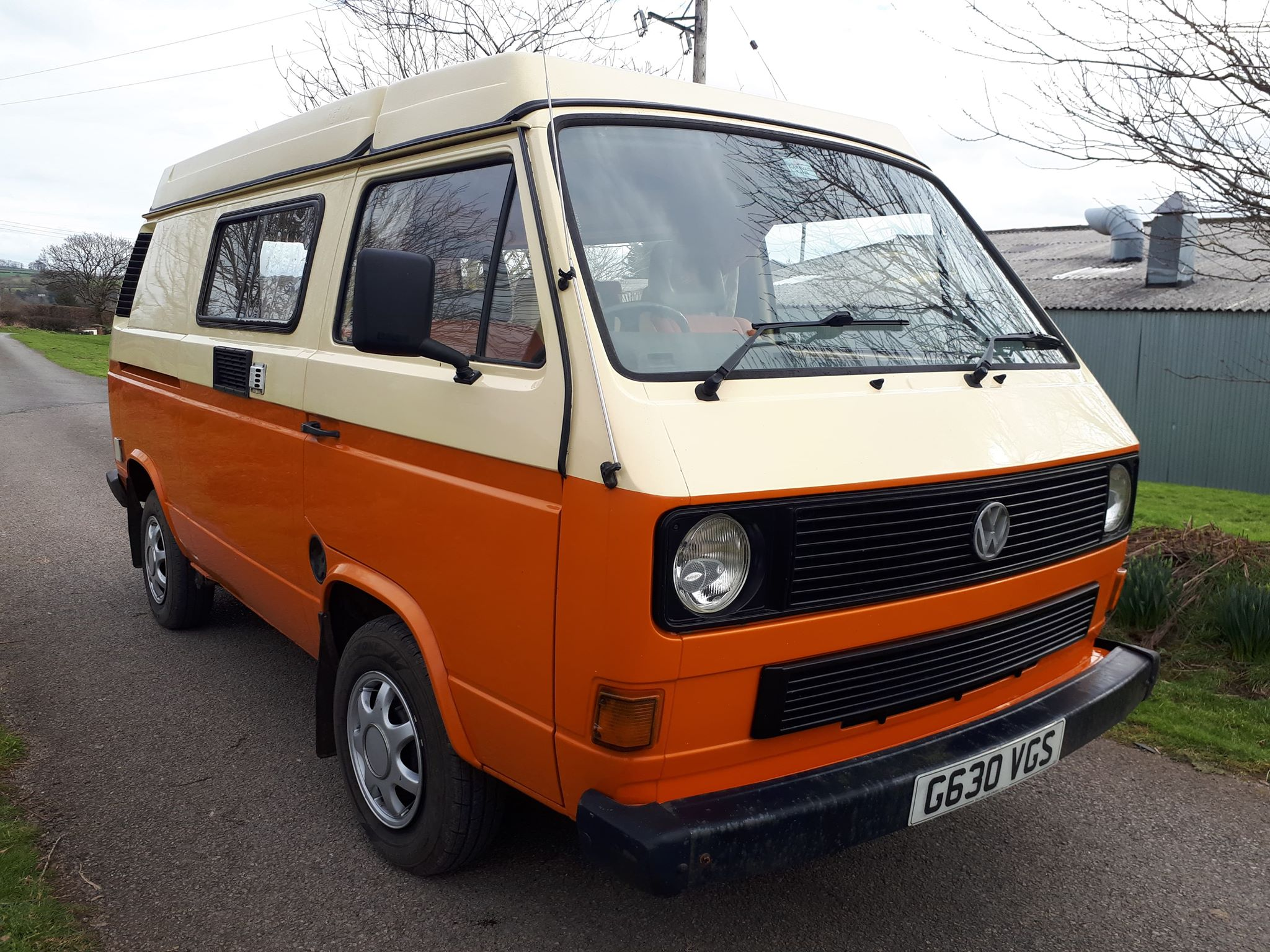 Vw T25 Holdsworth With Reimo Roof South West Vws